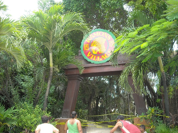Ramon's Village Resort's main entrance