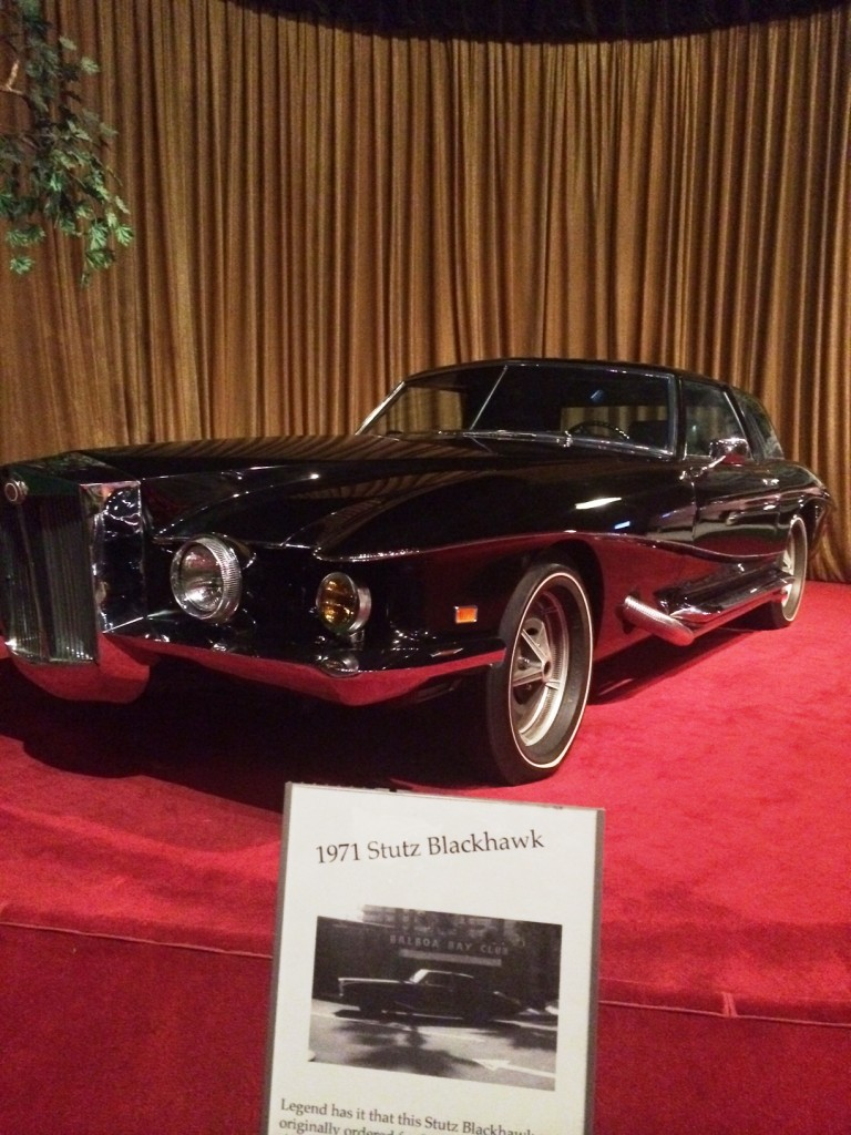 The Black Stutz Blackhawk was the first purchased in the US by Elvis. It has been told that it was probably one of his favorite.