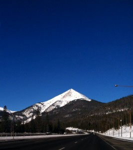 Rocky Mountains in beautiful Colorado