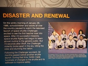 CA Science Cntr Endeavour Sign 2
