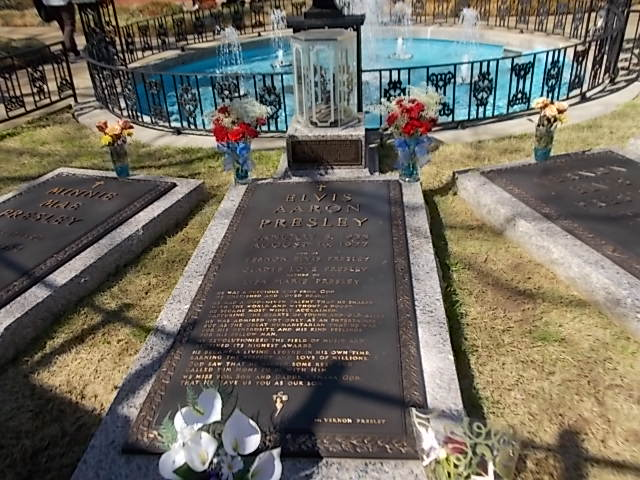 Elvis Arron Presley's Final Resting Site