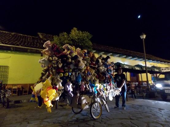 Granada vendor on La Calzada