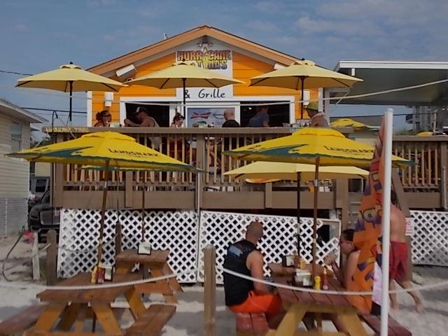 Hurricane Tina's Beach Front seating 2