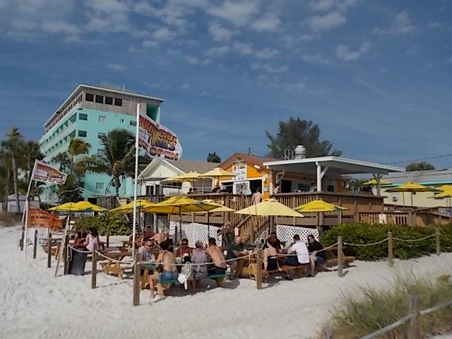 Hurricane Tina's Beach Front seating 3