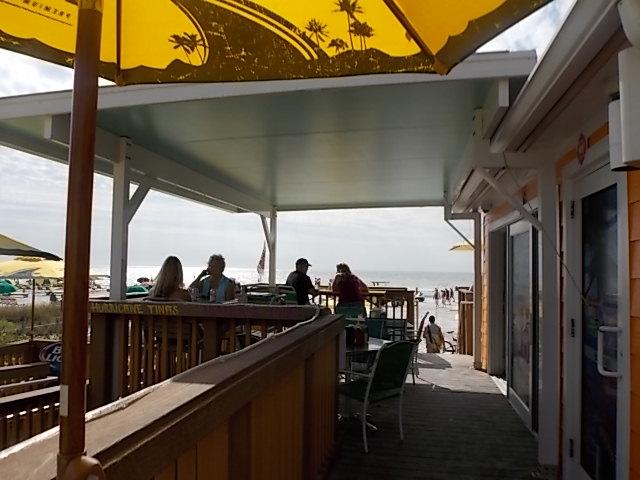 Hurricane Tina's Side Deck 1