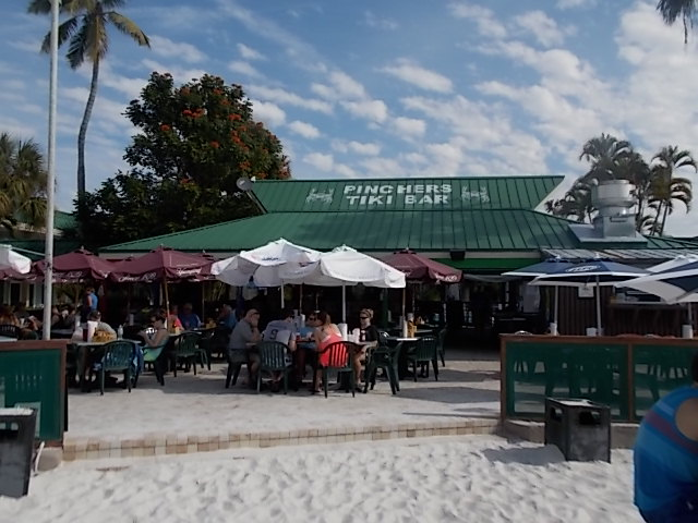 Pinchers Crab Shack Pic from Beach 2