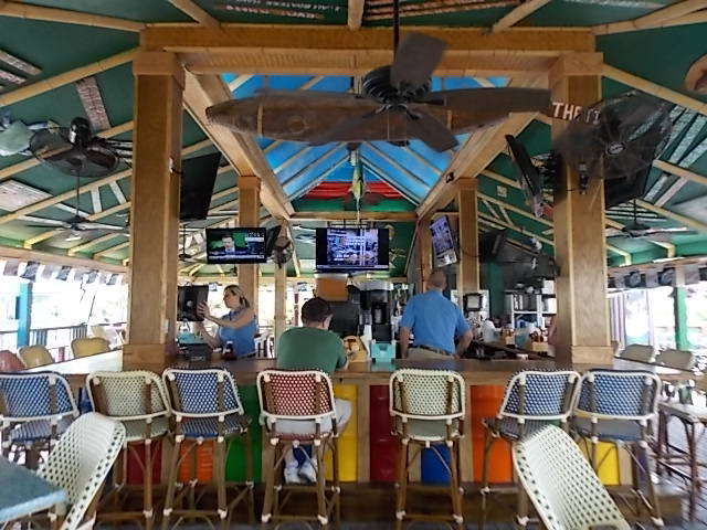 Pinchers Crab Shack outside bar & Grill 1
