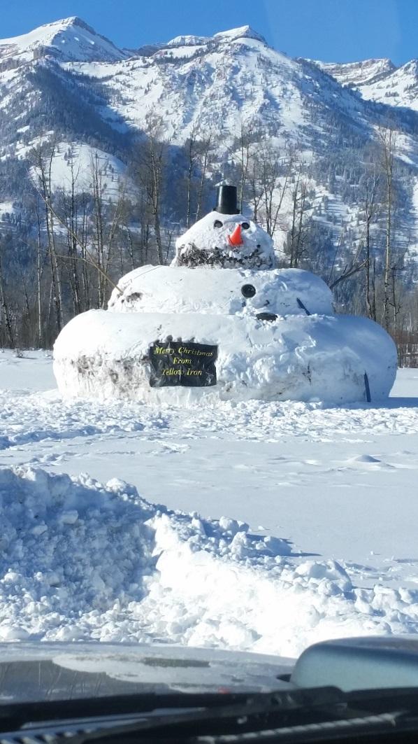 Wyoming Snowman