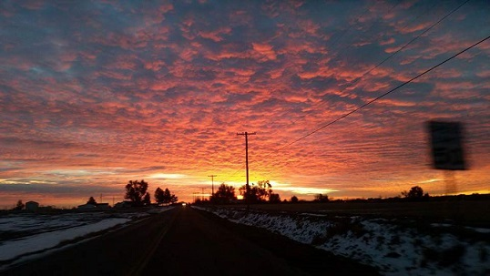 NEW Sunrise in Northern CO