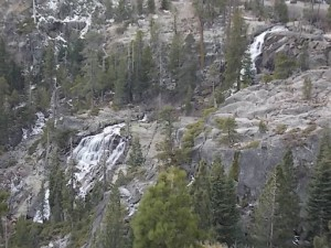 Falls above Emerald Bay 1