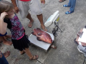 Tournament Fish Weigh in 8