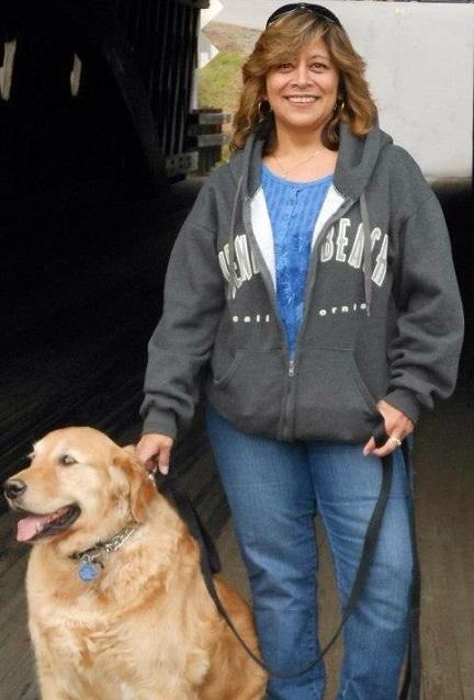 Diana Blevins Dog Pic
