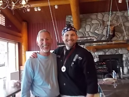 Shore Lodge Cook off Chef Aaron & Tony 3