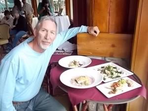 Shore Lodge Cook off Tony plates