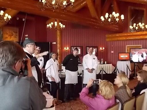 Shore Lodge Cook off Winning Chef Wiley 1