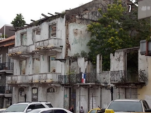 Old Casco Viejo building
