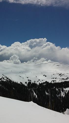 Debbie Miller Mitchell Mtn Clouds