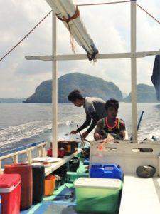 philippine islands fishing boat