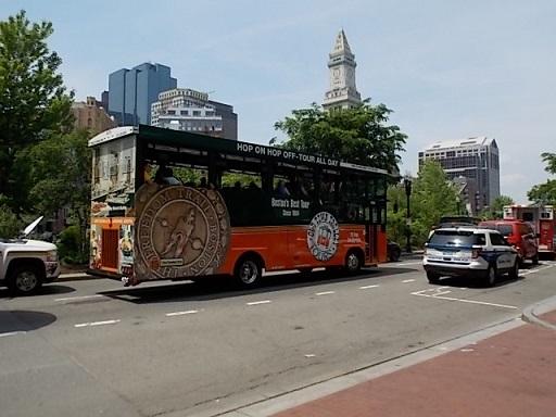 BOSTON TOUR TROLLEY 1