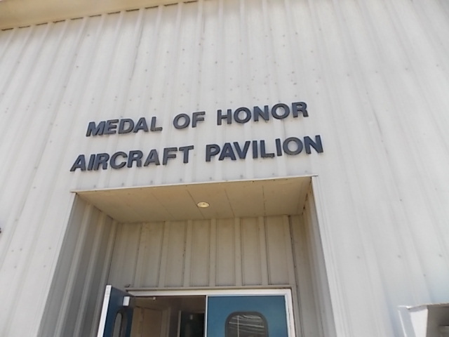 medal of honor aircraft pavilion