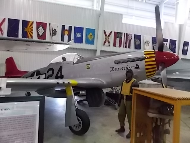 AC Pavillion plane P51 Mustang