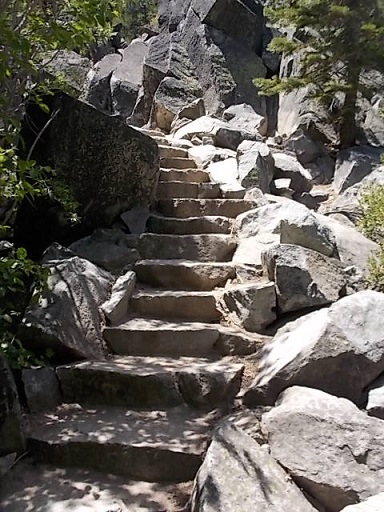 LT stairs upto Falls 1