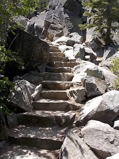 LT stairs upto Falls 1