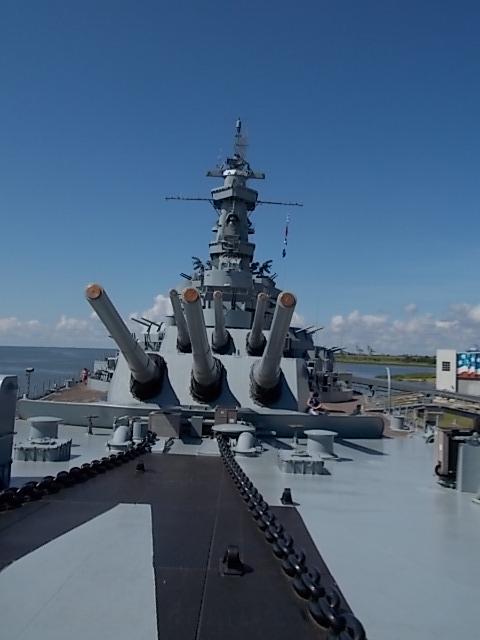 USS AL 16 inch guns pic 2