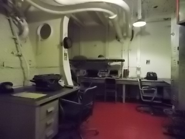 USS AL Below Deck Clerk ofc