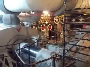 USS AL Below Deck engine rm 2