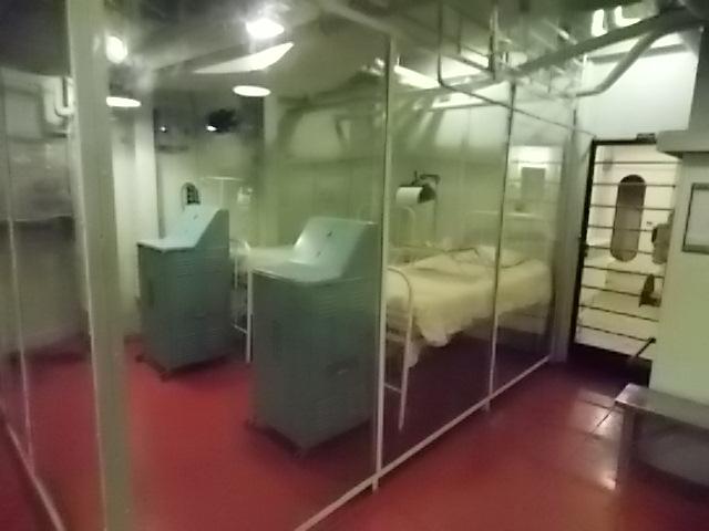 USS AL Below Deck hospital room