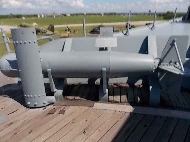 USS AL Depth Charge