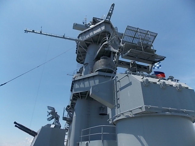 USS AL Tower shot 4