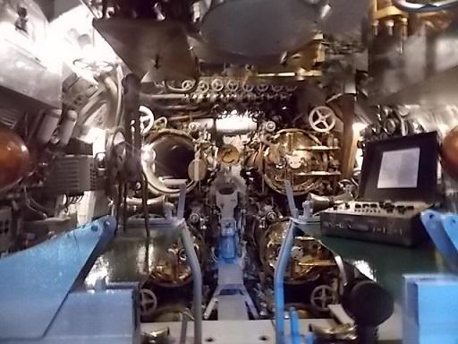 USS Drum Sub inside 1