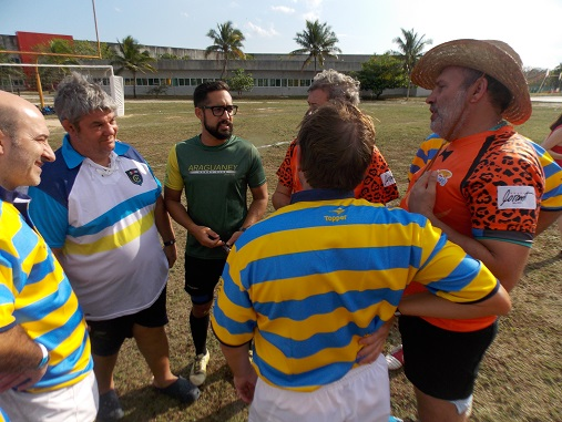 Playa Del Carmen Hosted Argentina Rugby Club