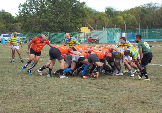 Argentina Rugby Club Comes to Playa del Carmen