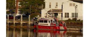mystic fire boat