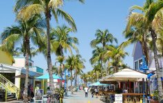 ft myers beach times square