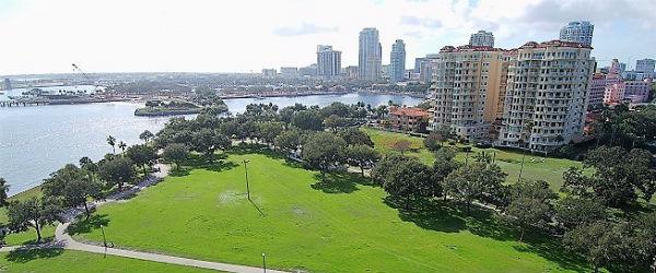 St Petersburg Floridas Downtown