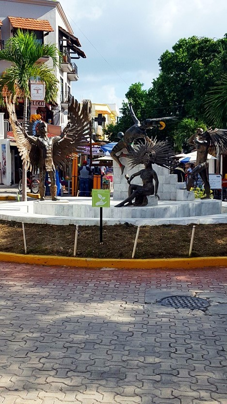 playa del carmen square