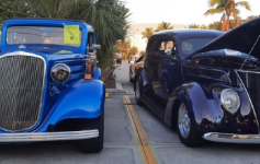 Parrot Key's Open Car Show
